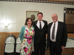 Seminarian Michael Bollinger & Parents 1